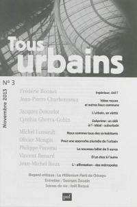 Tous urbains. n° 3 (2013),