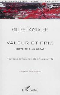 Valeur et prix, histoire d'un débat