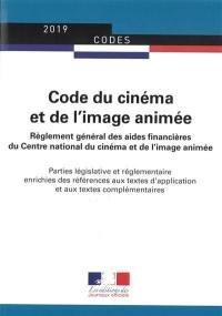 Code du cinéma et de l'image animée