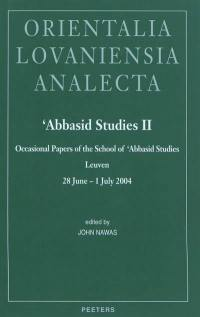 Abbasid studies II