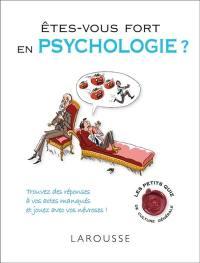 Êtes-vous fort en psychologie ?