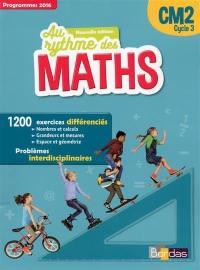 Maths CM2, cycle 3 : programmes 2016