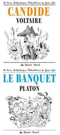 Le banquet, Platon, Candide, Voltaire
