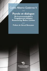 Parole et dialogue