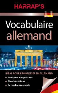 Harrap's vocabulaire allemand