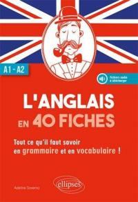 L'anglais en 40 fiches