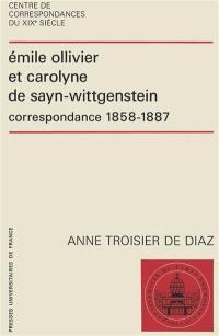 Emile Ollivier et Carolyne de Sayn-Wittgenstein