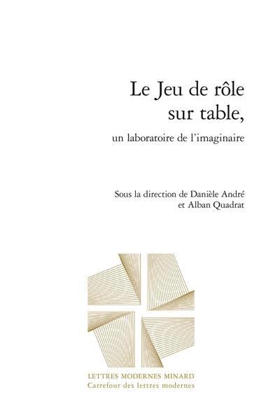 Le jeu de rôle sur table