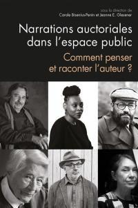 Narrations auctoriales dans l'espace public