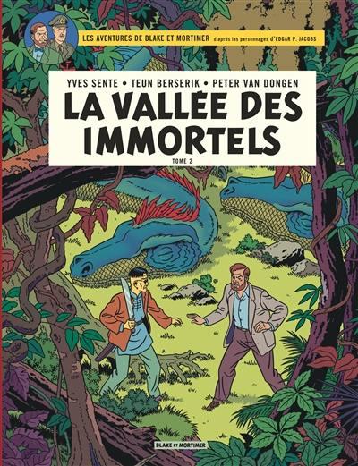 Les aventures de Blake et Mortimer, La vallée des immortels, Vol. 26