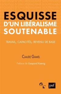 Esquisse d'un libéralisme soutenable