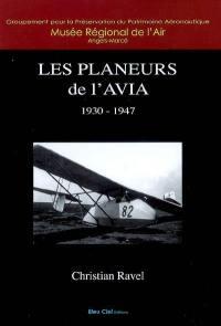 Les planeurs de l'AVIA