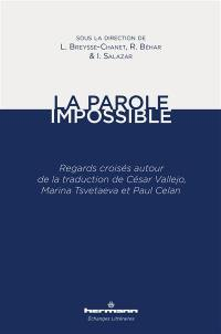 La parole impossible