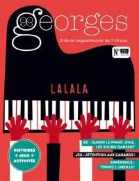 Georges : drôle de magazine pour enfants. n° 45, Piano