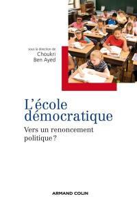 L'école démocratique