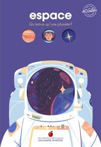 Espace : qu'est-ce qu'une planète ?