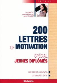 200 lettres de motivation