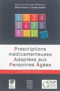Prescriptions médicamenteuses adaptées aux personnes âgées