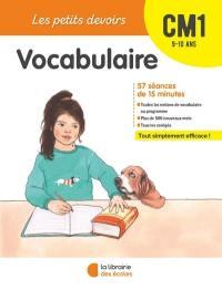 Vocabulaire CM1, 9-10 ans