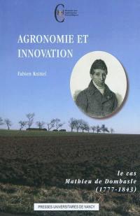 Agronomie et innovation