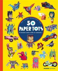 50 paper toys