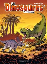 Les dinosaures en bande dessinée. Volume 5,