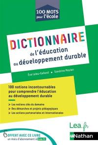 Dictionnaire de l'éducation au développement durable