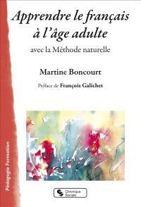 Apprendre le français à l'âge adulte