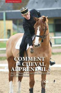 Comment le cheval apprend-il ?