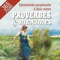 Proverbes & maximes