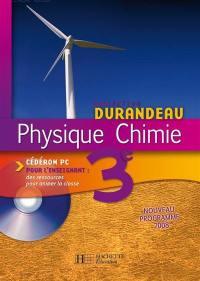 Physique, chimie 3e
