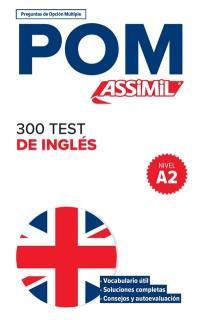 300 test de inglés, nivel A2