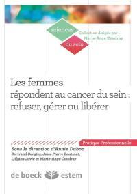 Les femmes répondent au cancer du sein