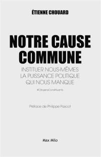 Notre cause commune