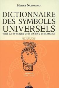 Dictionnaire des symboles universels. Volume 2, Char-Elém
