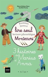 3 histoires de Marius et Anna