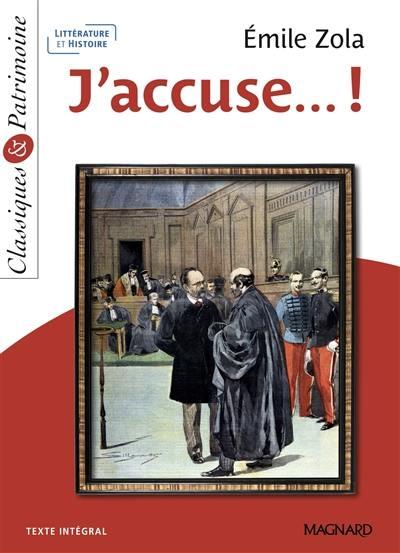 J'accuse... !