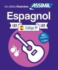 Espagnol collège 5e, LV2