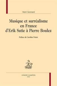 Musique et surréalisme en France