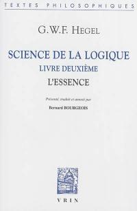 Science de la logique, Livre deuxième