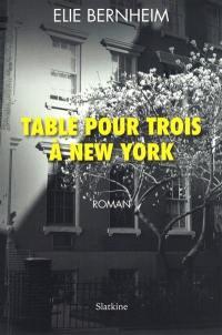 Table pour trois à New York