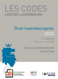 Droit luxembourgeois 2020