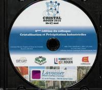 8ème édition du colloque Cristallisation et précipitation industrielles