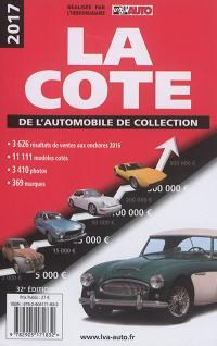 La cote de l'automobile de collection 2017
