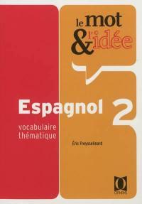 Le mot et l'idée, espagnol 2