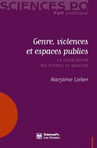 Genre, violences et espaces publics