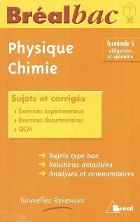 Physique-chimie terminale S, obligatoire et spécialité