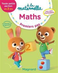 A la maternelle, maths, toute petite section, dès 2 ans