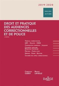 Droit et pratique des audiences correctionnelles et de police 2019-2020