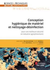 Conception hygiénique de matériel et nettoyage-désinfection